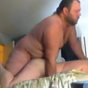 Gordo Parrudo Come Namorado Passivo