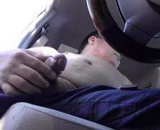 Gozando no Carro Com Esse Daddy Gostoso